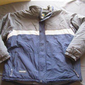 Mens Cabelas Fleece Lined Bomber Style Jacket XL